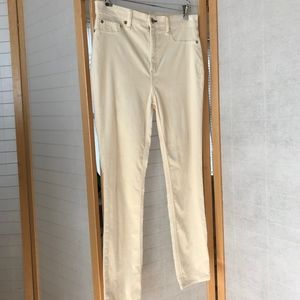 rag & bone Size 29 creamy white jeggings EUC jeans